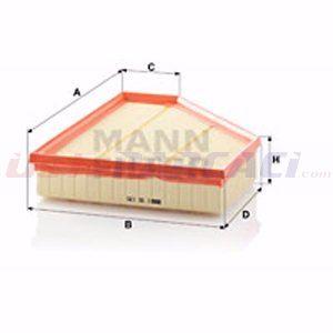 Bmw 3 325 D 2004-2011 Mann Hava Filtresi UP1393211 MANN