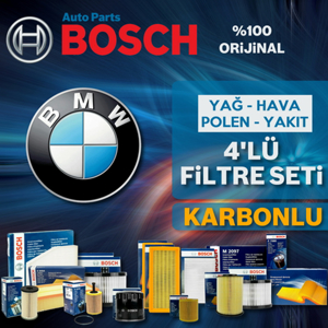 Bmw X6 3.0d Xdrive E71 Bosch Filtre Bakım Seti (2010-2014) UP582449 BOSCH