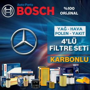 Bosch Mercedes Cla 180 Cdi C117 Filtre Bakım Seti 2015-2018 UP1539563 BOSCH