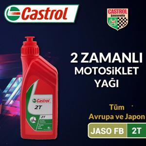 Castrol 2t Motosiklet Yağı 1 Litre Ü.t.03/2020 UP1534862 CASTROL