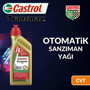 Castrol Transmax Cvt Otomatik Şanzıman Yağı 1 Litre Ü.t.12/2019 UP1534857 CASTROL