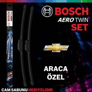 Chevrolet Cruze Ön Arka Silecek Takımı 2009-2013 Bosch Aerotwin UP1539365 BOSCH
