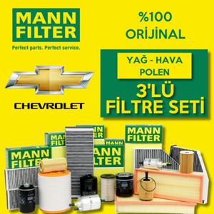 Chevrolet Kalos 1.2 Mann-filter Filtre Bakım Seti 2005-2008 UP1319445 MANN