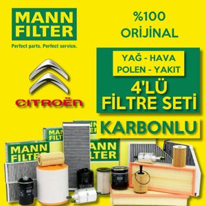 Citroen Berlingo 1.6 Hdi Euro5 2011 üzeri Mann Filtre Bakım Seti UP1539425 MANN