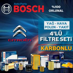 Citroen Berlingo 1.9 Dizel Bosch Filtre Bakım Seti 2002-2008 UP1539662 BOSCH