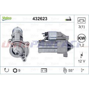 Citroen C3 I 1.6 16v 2002-2010 Valeo Marş Motoru UP1516788 VALEO