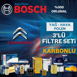 Citroen C4 Cactus 1.6 E-hdi Bosch Filtre Bakım Seti (2014-2017) UP582468 BOSCH