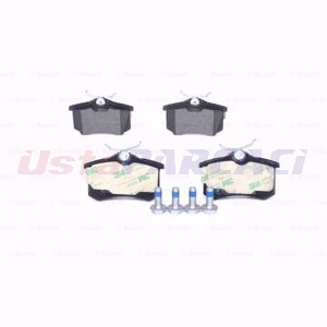 Citroen Ds4 2.0 Bluehdi 180 2011-2015 Bosch Arka Fren Balatası UP1573264 BOSCH