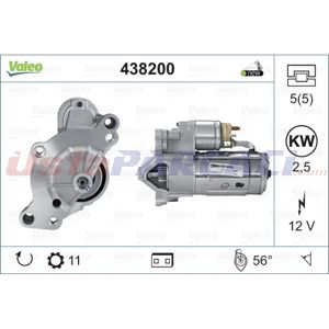 Citroen Ds4 2.0 Bluehdi 180 2011-2015 Valeo Marş Motoru UP1457651 VALEO