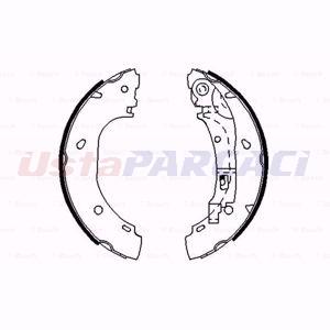 Citroen Jumper Panelvan 2.0 Bivalent 2002-2020 Bosch Arka Fren Balatası UP1582642 BOSCH