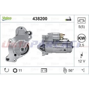 Citroen Jumpy 2.0 Hdi 165 2007-2020 Valeo Marş Motoru UP1464468 VALEO