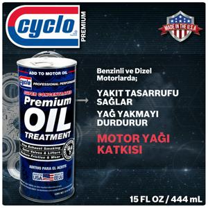 Cyclo Premium Oil Treatment Motor Yağı Katkısı - Yakıt Tasarrufu UP1632560 Cyclo