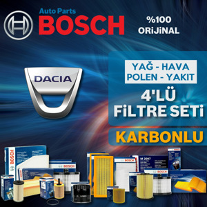 Dacia Sandero 1.5 Dci Bosch Filtre Bakım Seti  2012-2018 UP1539610 BOSCH