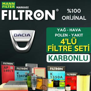 Dacia Sandero 1.5 Dci Mann Filtron Filtre Bakım Seti  2012-2018 UP1539613 FILTRON