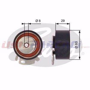 Fiat Albea 1.6 1996-2012 Gates Eksantrik Gergi Rulmanı UP1507219 GATES
