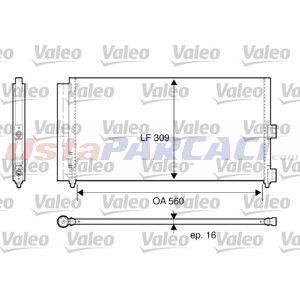 Fiat Doblo Cargo 1.3 D Multijet 2001-2010 Valeo Klima Radyatörü UP1517843 VALEO
