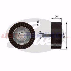 Fiat Doblo Mpv 2.0 D Multijet 2010-2020 Gates Alternatör Gergi Rulmanı UP1442523 GATES