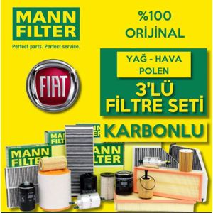 Fiat Egea 1.3 1.6 Euro6 Mann Filtre Bakım Seti 2016-2020 UP1539572 MANN