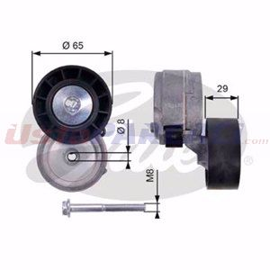 Fiat Multipla 1.9 Jtd 115 1999-2010 Gates Alternatör Gergi Rulmanı UP1462062 GATES