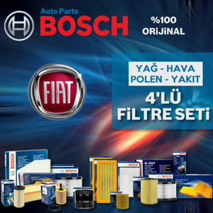 Fiat Punto 1.3 Multijet Bosch Filtre Bakım Seti 2004-2010 UP582963 BOSCH