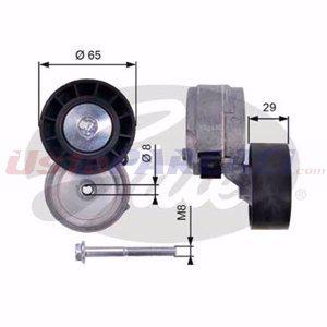 Fiat Stilo 1.9 D Multijet 2001-2007 Gates Alternatör Gergi Rulmanı UP1480502 GATES