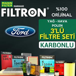 Ford Fiesta 1.6 Filtron Filtre Bakım Seti 2013-2016 UP1319450 FILTRON