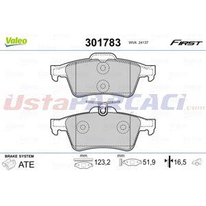 Ford Focus Iii 2.0 St 2010-2020 Valeo Arka Fren Balatası UP1497838 VALEO