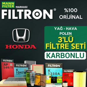 Honda Civic 1.6 Fb7 Filtron Karbonlu Filtre Bakım Seti 2013-2016 UP463750 FILTRON