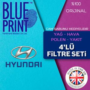 Hyundai Accent Era 1.5 Crdi Blueprint Filtre Bakım Seti 2006-2012 UP561519 BLUEPRINT