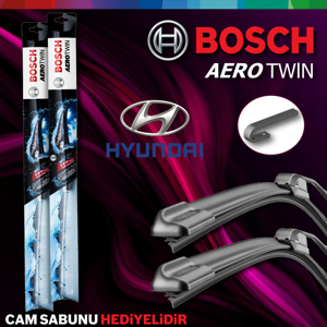 Hyundai İ30 Ön Arka Silecek Takımı 2012-2016 Bosch Aerotwin-rear UP1539357 BOSCH