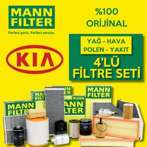 Kia Pro Ceed 1.6 Crdi Mann-filter Filtre Bakım Seti 2008-2013 UP1320002 MANN