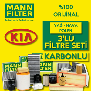Kia Sportage 1.6 Gdi Mann Filtre Bakım Seti 2010 - 2016 UP1539729 MANN