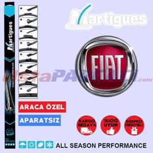 Fiat Egea Muz Silecek Takımı (2015-2017) UP433251 MARTIGUES