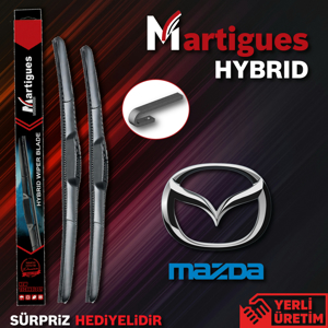 Mazda 2 Hybrid Silecek Takımı (2008-2012) UP460220 MARTIGUES