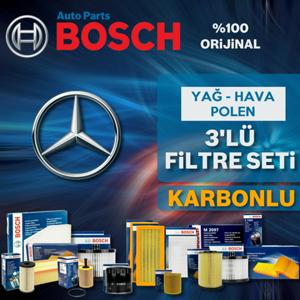 Mercedes C200 Komp. Bosch Filtre Bakım Seti W204 2007-2009 UP582476 BOSCH
