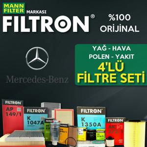 Mercedes Vito 115 Cdi Filtron Filtre Bakım Seti 2004-2010 UP1324638 FILTRON