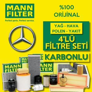 Mercedes Vito 115 Cdi Mann-filter Filtre Bakım Seti 2004-2010 UP1324641 MANN