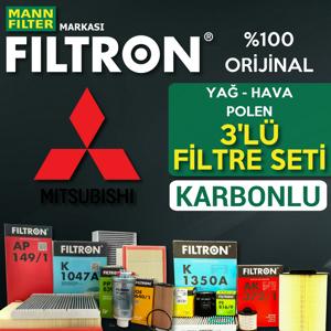 Mitsubishi Lancer 1.5 Filtron Filtre Bakım Seti 2009-2012 UP1324652 FILTRON