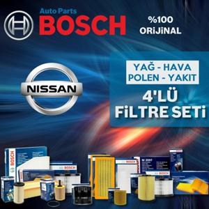 Nissan Qashqai 1.5 Dcı Bosch Filtre Bakım Seti (2007-2013) UP463652 BOSCH
