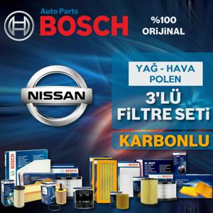 Nissan Qashqai 1.6 Dci Bosch Karbonlu Filtre Bakım Seti 2014-2017 UP561021 BOSCH