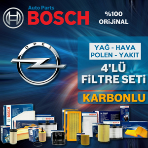 Opel Astra J 1.6 Cdti Bosch Filtre Bakım Seti 2014-2017 UP1313094 BOSCH