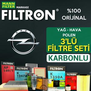 Opel Astra J 1.6 Cdti Filtron Filtre Bakım Seti 2014-2017 UP1319438 FILTRON