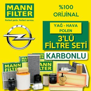 Opel Astra J 1.6 Cdti Mann-filter Filtre Bakım Seti 2014-2017 UP1319439 MANN