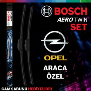 Opel Astra J Ön Arka Silecek Takımı 2009-2015 Bosch Aerotwin-rear UP1539349 BOSCH