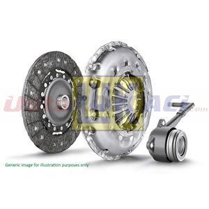 Opel Combo Kombi 1.6 Cng 16v 2001-2012 Luk Debriyaj Seti UP1524949 LUK