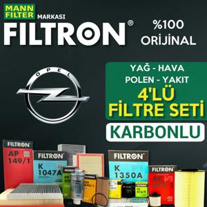 Opel Mokka 1.6 Cdti Filtron Filtre Bakım Seti 2015-2017 UP1319638 FILTRON