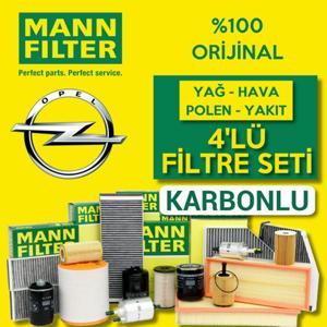 Opel Mokka 1.6 Cdti Mann-filter Filtre Bakım Seti 2015-2017 UP1319639 MANN