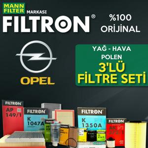 Opel Zafira B 1.6 Filtron Filtre Bakım Seti 2006-2010 UP1319466 FILTRON