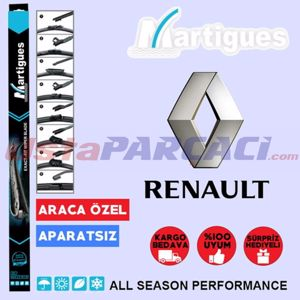 Renault Megane 2 Muz Silecek Takımı (2006-2009) UP433242 MARTIGUES
