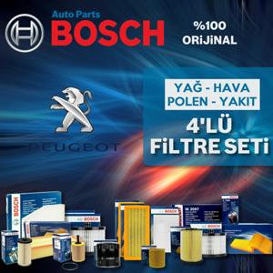 Peugeot 206 1.4 Bosch Filtre Bakım Seti 1998-2009 UP1312953 BOSCH